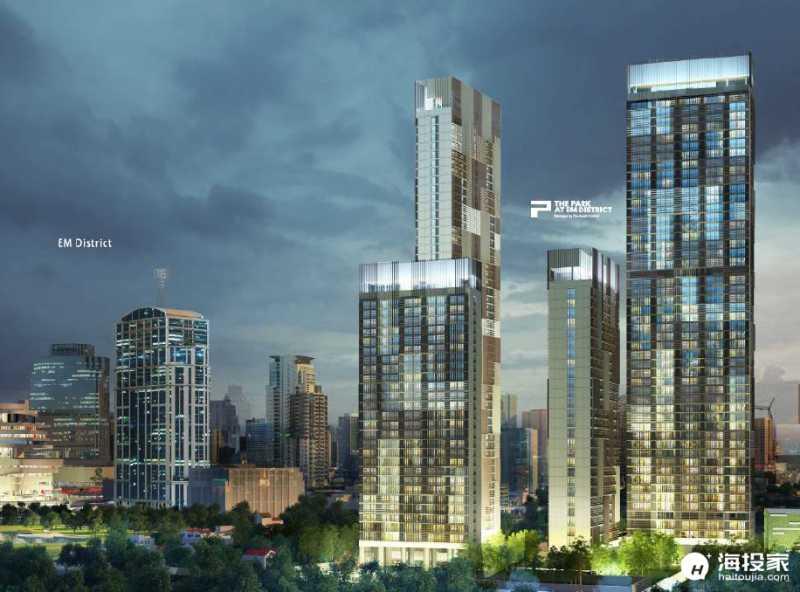 曼谷 The Park24:几何中心的世纪绝版豪宅