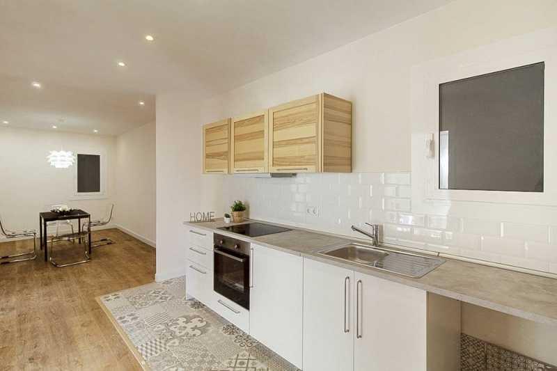 西班牙巴塞罗那近圣保罗医院家庭宜居新装公寓