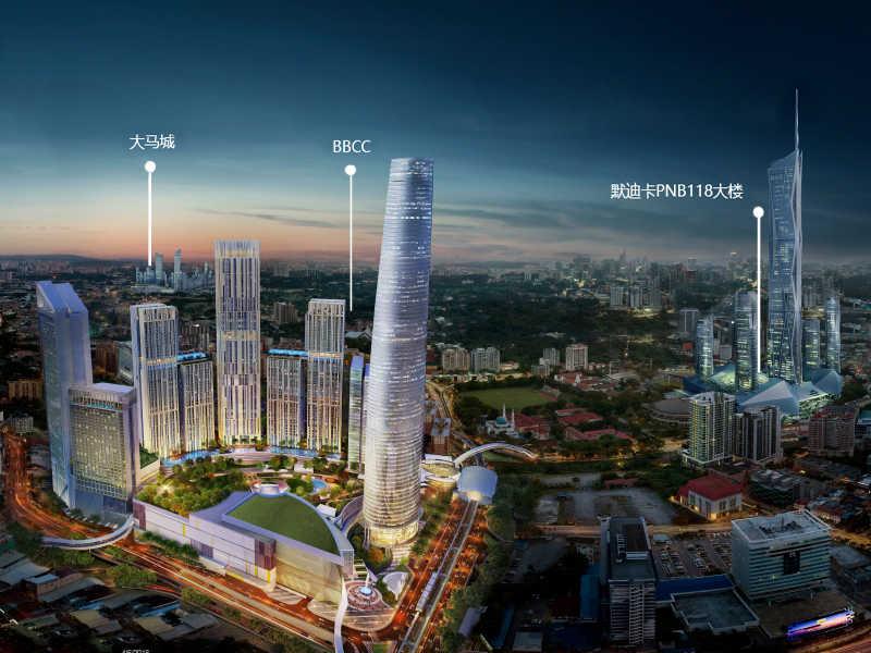 马来西亚吉隆坡BBCC LUCENTIA豪华公寓 高端配备