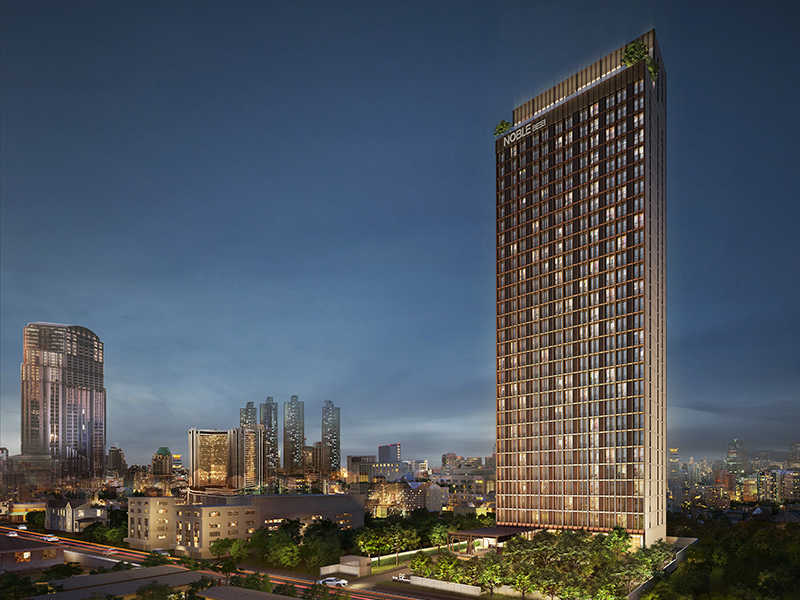 泰国曼谷Noble BE33公寓|高贵优雅气息 拎包入住