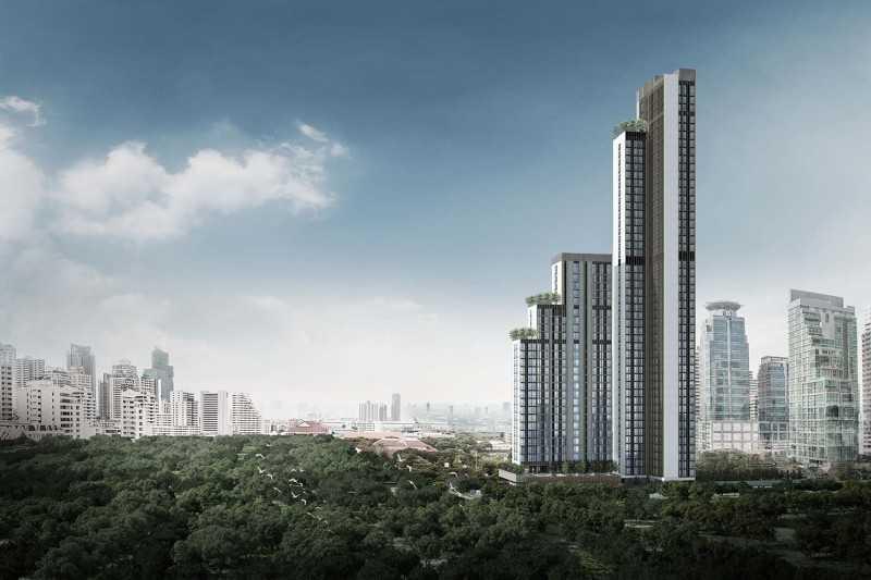 NobleBE19 曼谷Asoke繁华区,双轨交汇处高端公寓