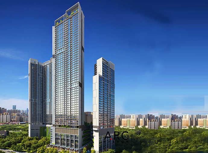网红爆款!雅居乐·天汇 吉隆坡 KLCC金三角新地标