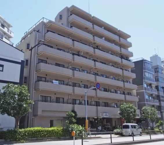 日本东京新宿区复合式公寓,交通便利,性价比高!