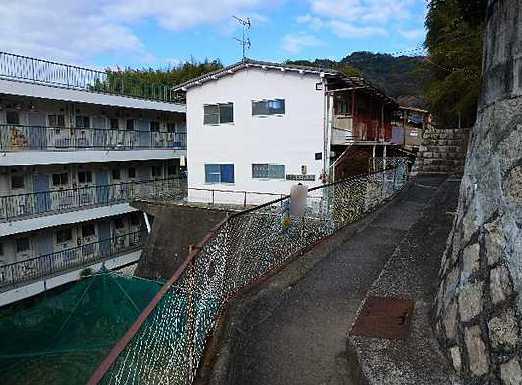 日本広島県 一棟楼