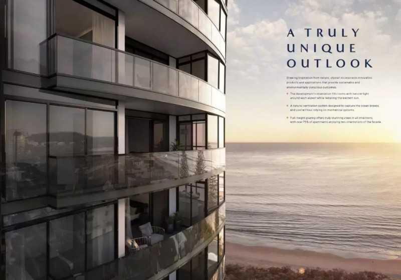 黄金海岸Elysian海景奢华公寓,编号25502
