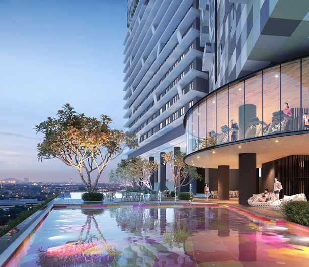 马来西亚吉隆坡2卧2卫新开发房产,编号25623