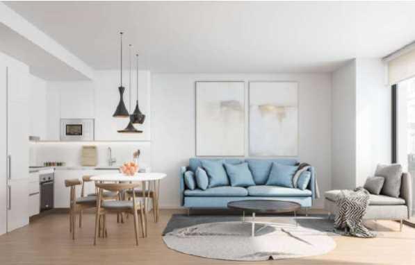 巴塞罗那高品质全新复式公寓