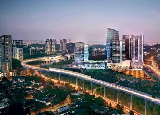 馬来西亞吉隆坡白沙罗嶺高级公寓住所出售