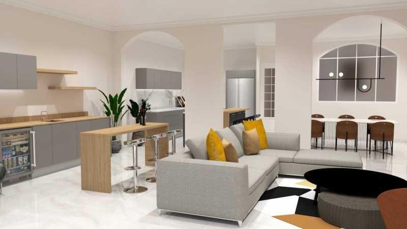 巴塞罗那市中心钻石地段大露台豪华公寓