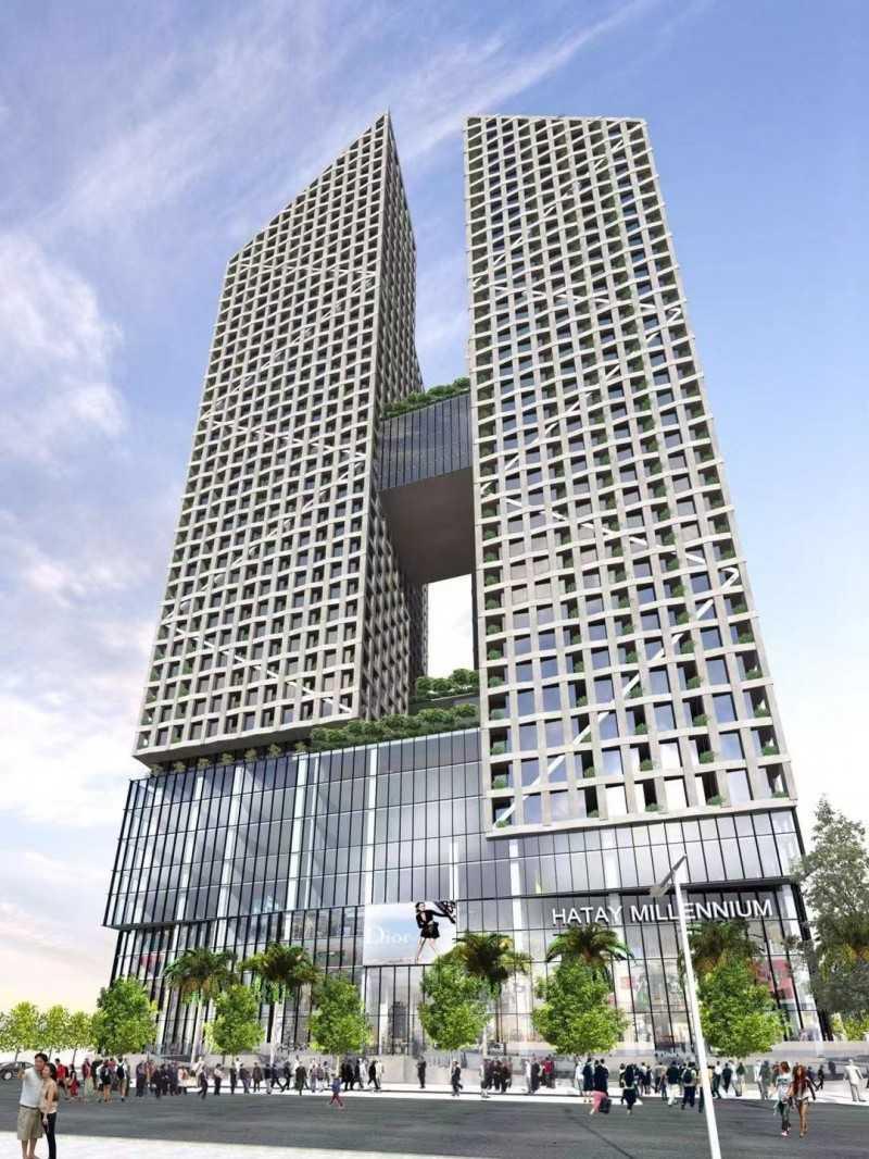 越南房产河内地铁房总价45万,编号26032