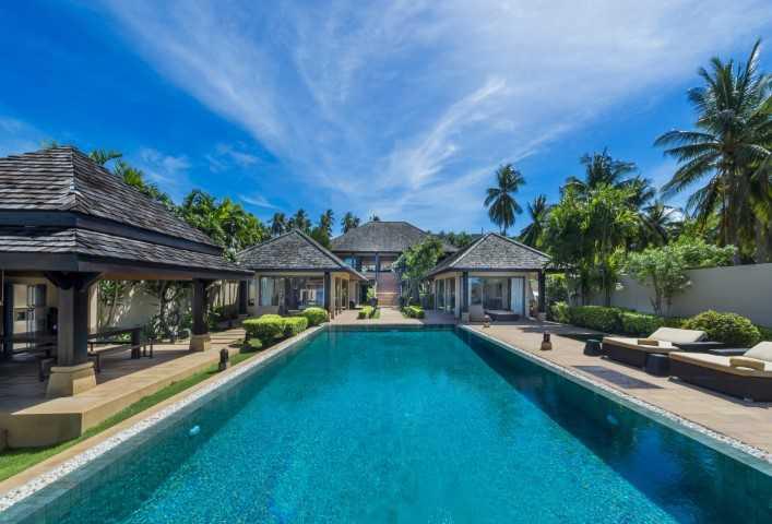 泰国苏梅岛 HH 5 卧室别墅 HH0642