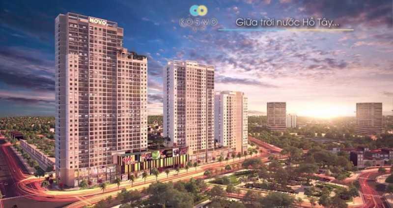 越南河内西湖房子 Kosmo 项目