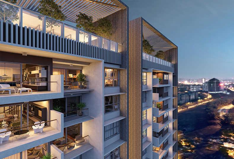 吉隆坡 日系精装奢华公寓 史丹诺三号 拎包入住