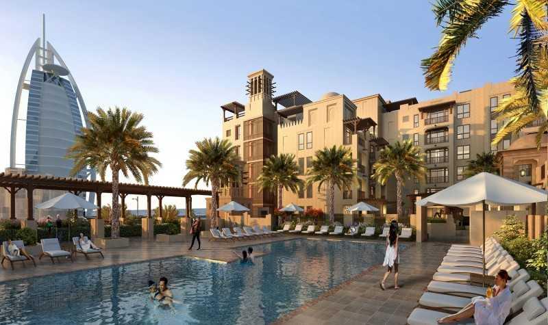 迪拜朱美拉湾古城,不容错过的潮流住宅!