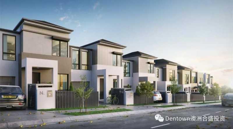 Silk Terraces项目不足60万预算悉尼联排别墅