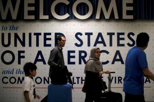 被美国列为高签证逾期率目标国家的违反者数量较少