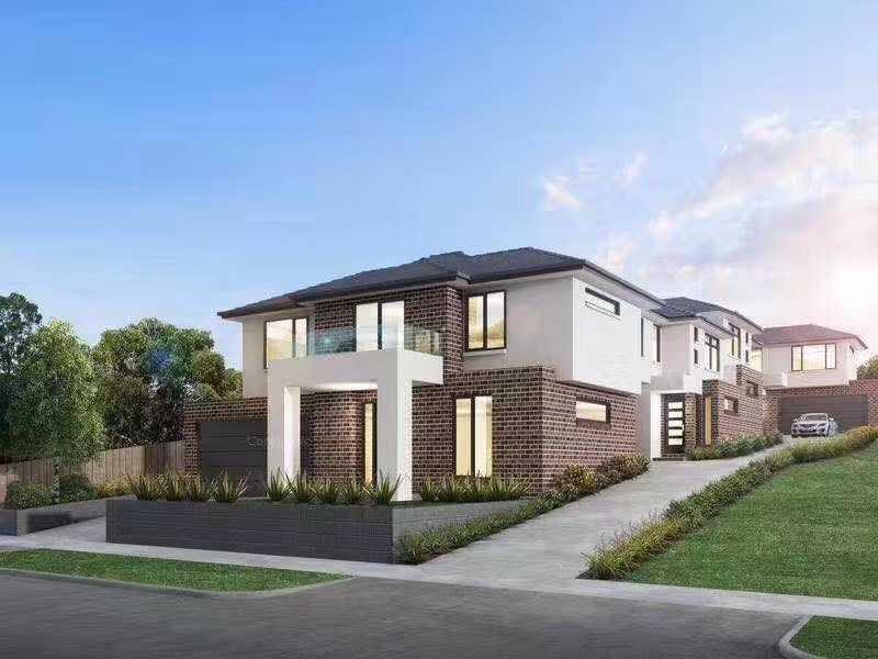 澳大利亚墨尔本唐卡斯特东部4房3卫2车位合同价格仅115万