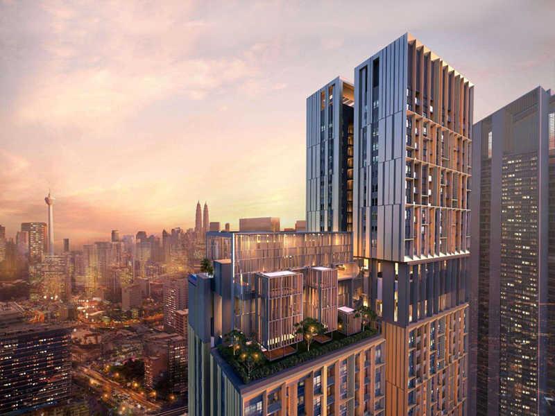 吉隆坡繁华地段BBCC Lucentia 商务中心高档公寓