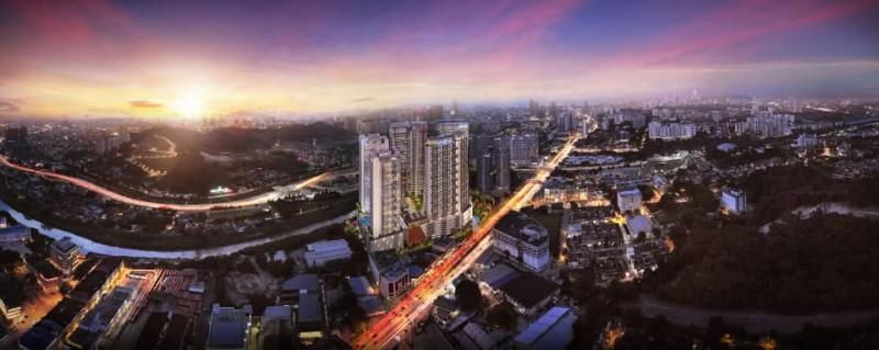 马来西亚吉隆坡3卧2卫新开发高级房产