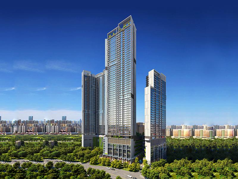 吉隆坡雅居乐天汇 精装公寓 拎包入住 全新升级  五年无忧