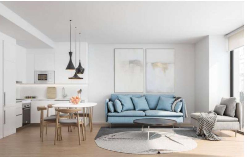 巴塞罗那 高品质全新复式公寓