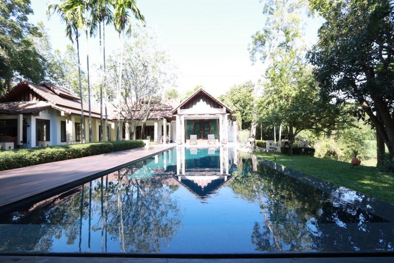 萍河边上的高级别墅出售 - PAD009