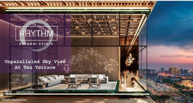 泰国房产曼谷日本区的绝佳投资机会RHYTHM EKKAMAI,编号27918