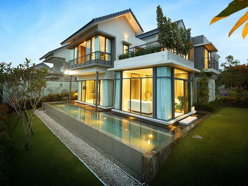马来西亚 新山 丽舍庄园 永久产权高端别墅庄园 私享独立泳池