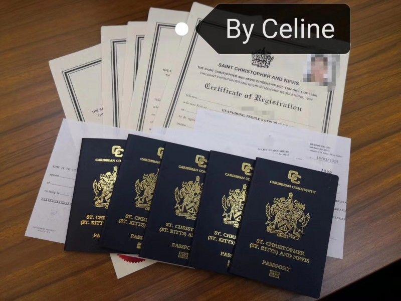 圣基茨购房护照移民,20万美金即可获得,护照鼻祖。,编号29756