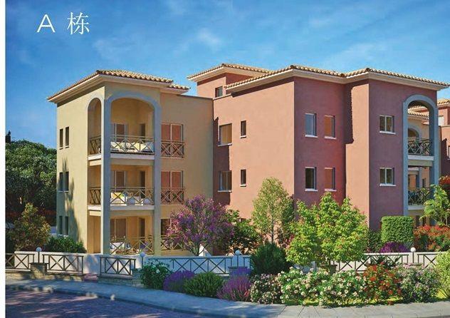 塞浦路斯帕福斯豪华公寓 送一家三代永居移民,编号30102