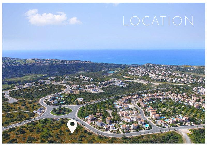 塞浦路斯帕福斯高尔夫度假村豪华别墅 送欧盟护照