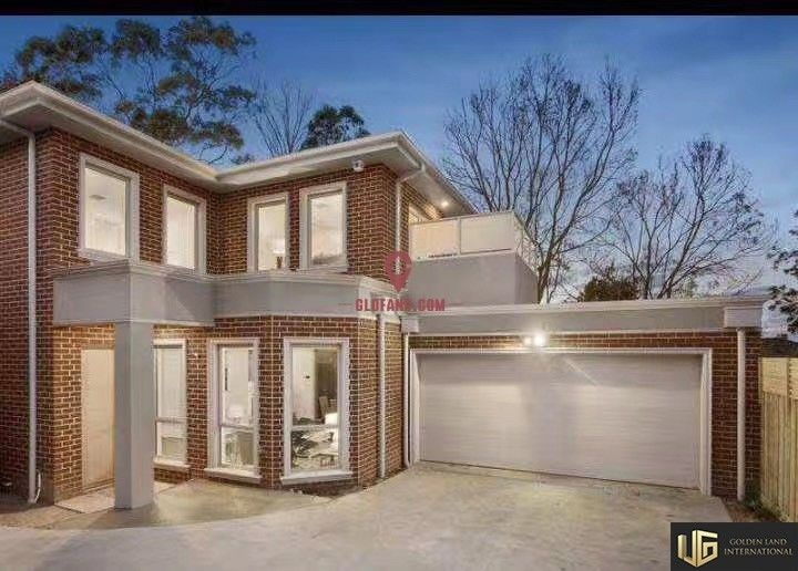 澳大利亚墨尔本box hill一地开三联排准现房别墅