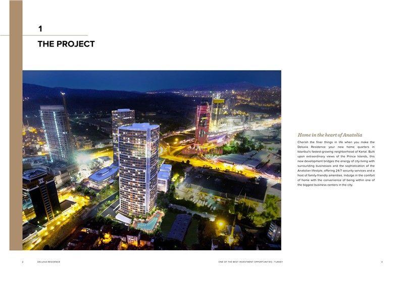 土耳其房产:伊斯坦布尔Deluxia住宅公寓 购房入籍