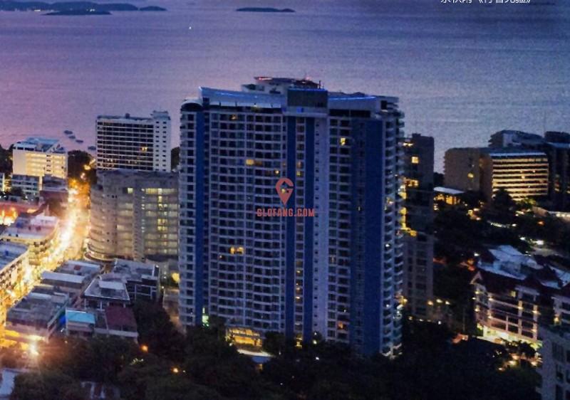 芭提雅棕榈海岸 富人区270度奢华海景半山公寓,编号33329