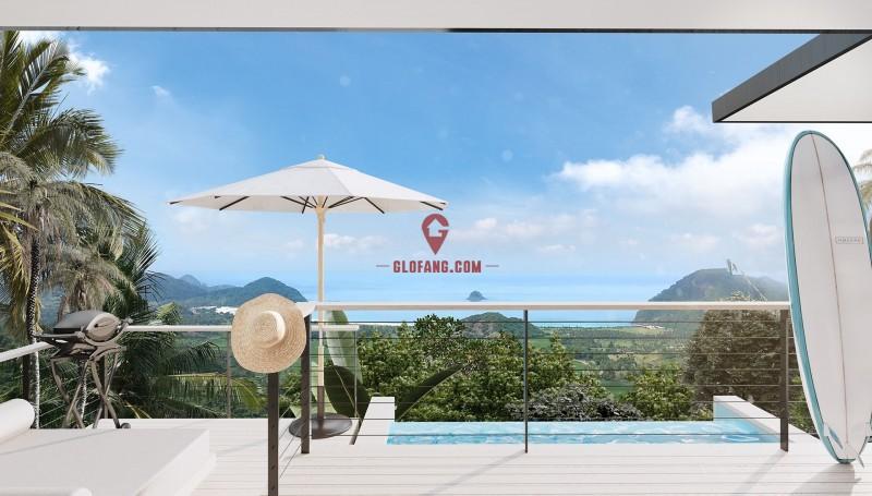塞洛集团 印尼龙目岛 全新推出豪华冲浪别墅 永久地契有地别墅