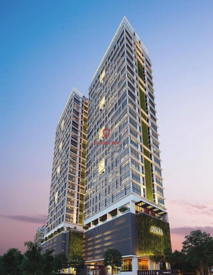 吉隆坡现房雅乐华庭ARIA毗邻美国大使馆可贷款5成,编号24110