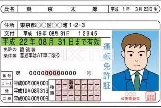 怎样用中国驾照换日本驾照?