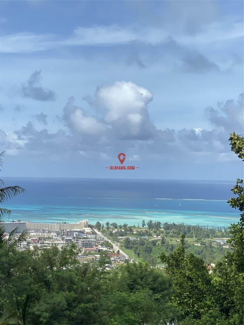 塞班岛一线海景地块,七色海洋尽收眼底