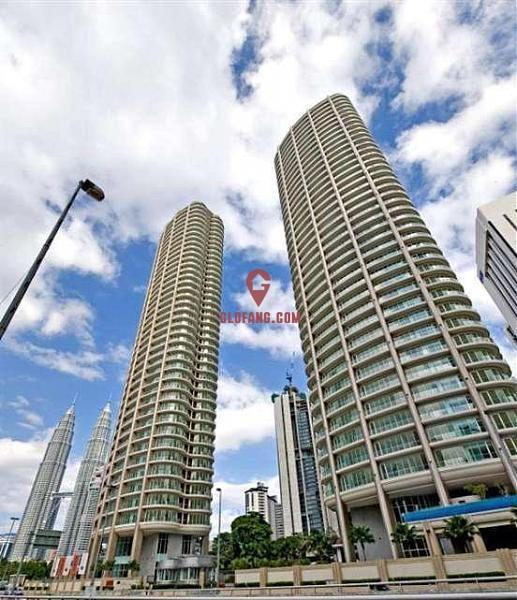 马来西亚吉隆坡双子塔-The Oval 大户型高级公寓