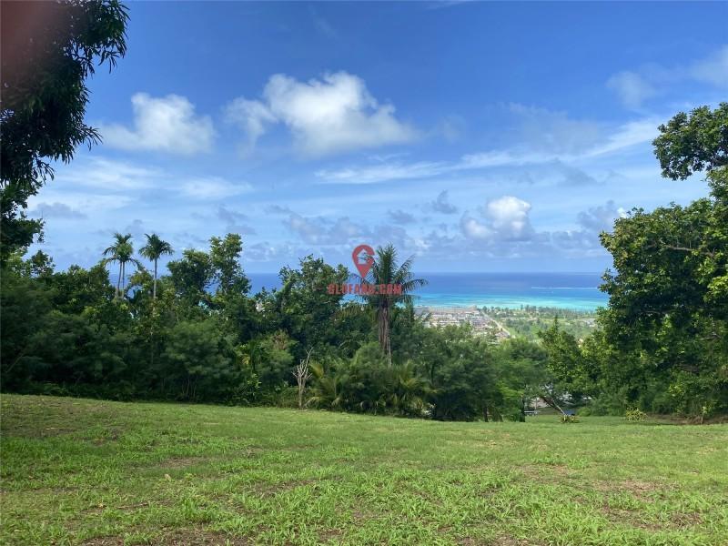 塞班岛一线海景地块,可看七色海洋地块,编号38825
