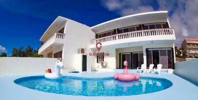 塞班岛市区核心无敌海景泳池别墅