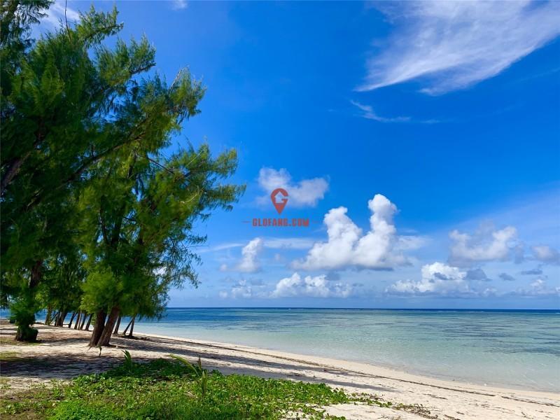 美国塞班岛无敌海景沙滩地