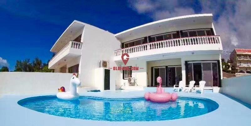 美国 塞班岛市区核心无敌海景泳池别墅