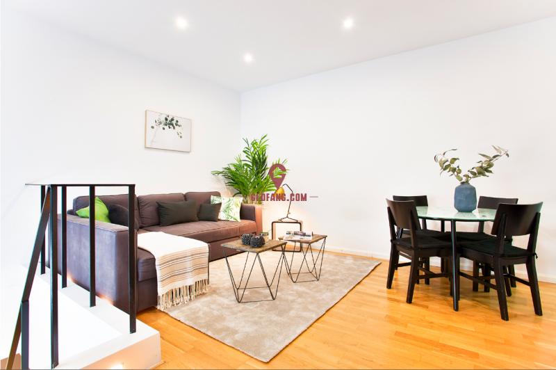马德里中心区北贝尔纳多小复式双层公寓 可短租