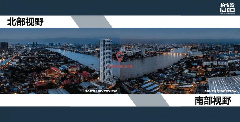 曼谷IDEO CHARAN70柏悦湾抄底均价8万泰铢每平起,编号24088