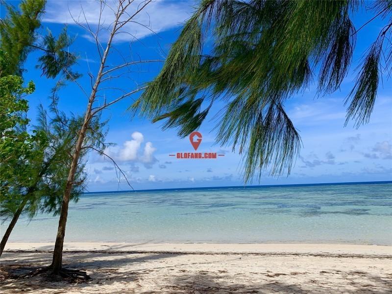 塞班岛无敌一线海景沙滩地
