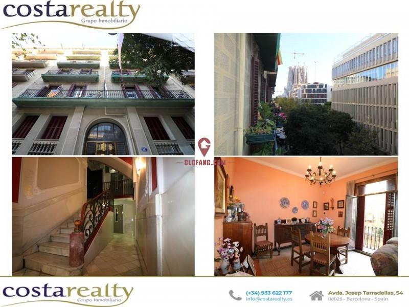 巴塞罗那市中心公寓圣家堂旁400米公寓 08025.4