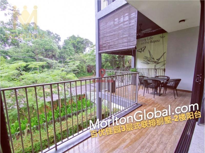 新加坡后花园-Residensi Bayou 联排别墅,编号27016