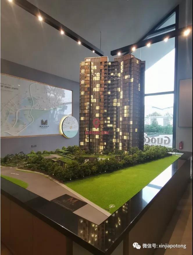 新加坡美雅豪苑-东海岸高档公寓,永久地契,海景房