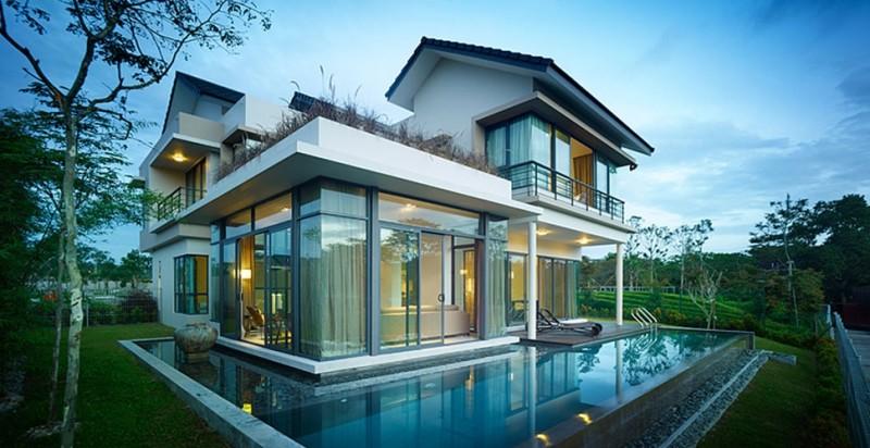 马来西亚新山庄园式住宅-新加坡后花园丽舍庄园百优湾独栋别墅